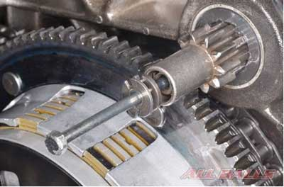 harley davidson jackshaft assembly gear pinion 9 tooth starter for cummins 3 remove the jackshaft bolt and washers