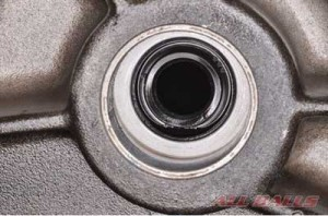 6. Replace the jackshaft oil seal with a new item if the jackshaft is removed.
