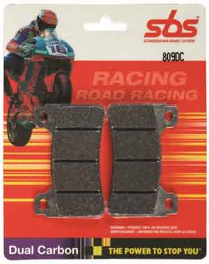 SBS DC (Dual Carbon) Racing Brake pads