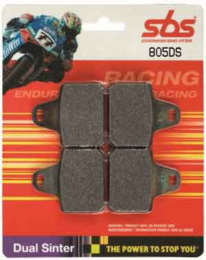 SBS DS (Dual Sinter) World Championship Racing Brake pads