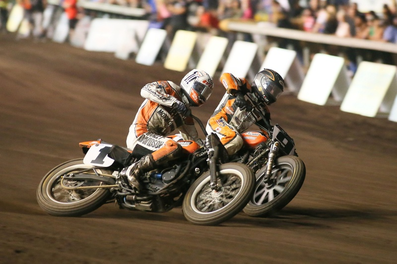 Brad Baker #1 and Jared Mees #9 Pomona Finals- 2014
