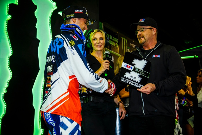 Cooper Webb won the 250SX West title