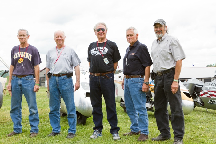 Participants of the 2014 Vetter Challenge at AMA Vintage Motorcycle Days