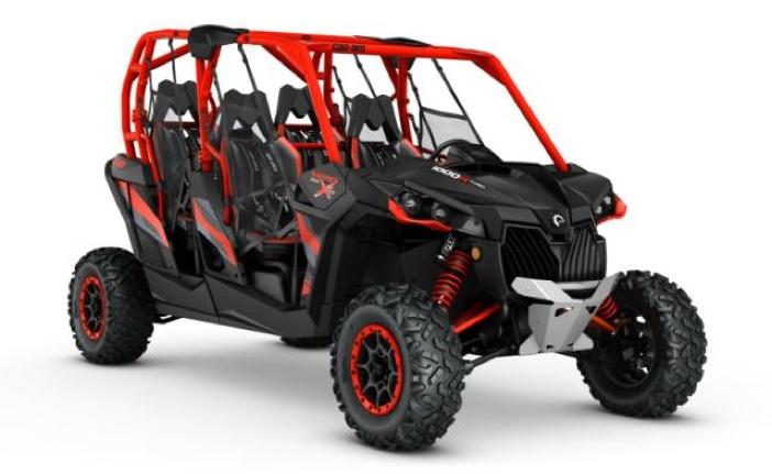Maverick MAX X rs 1000R TURBO Carbon Black