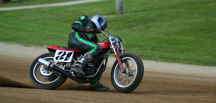 """""""BikeBandit.comAMA Vintage Motorcycle Days, featuring Indian Motorcycle at Mid-Ohio Sports Car Complex, July 11-13, 2014 near Lexington, Ohio. Photo by David Stanoszek, courtesy of the American Motorcyclist Association."""""""