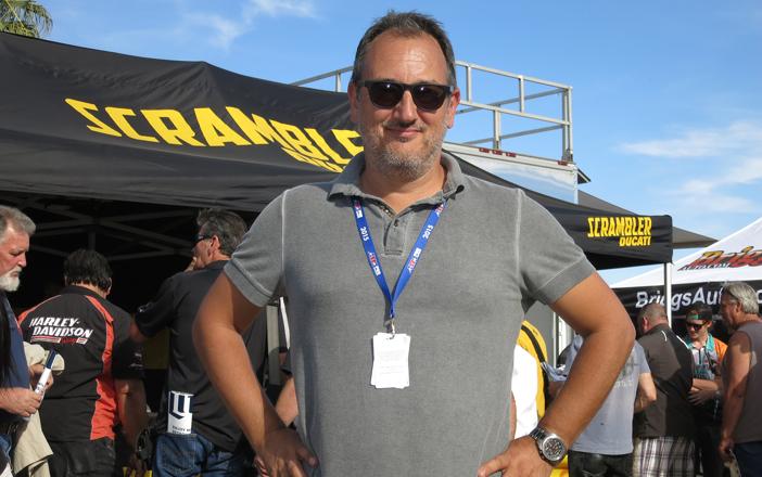 AMA Pro Racing CEO Michael Lock - Credit Larry Lawrence