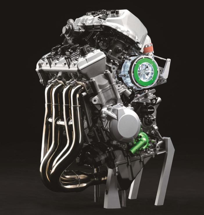 Balanced Supercharger Engine