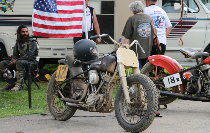 """""""AMA Vintage Motorcycle Days at Mid-Ohio Sports Car Complex, July 10-12, 2015 near Lexington, Ohio. Photo by James Holter/American Motorcyclist Association. #AMAVMD """""""