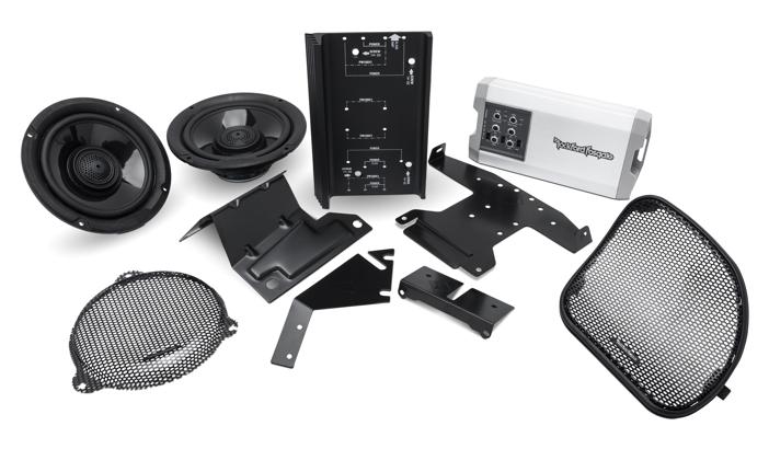 Rockford Fosgate HD14-TKIT  motorcycle audio kit