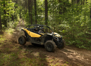 Can-Am's Maverick X3 features 150 hp and 113 ft.-lbs. of torque.