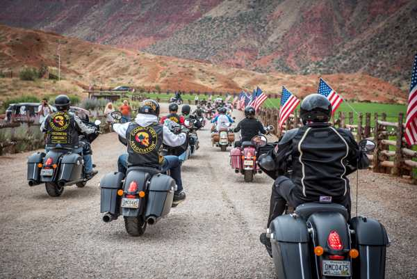 Indian Motorcycle and Veterans Charity Ride to Sturgis