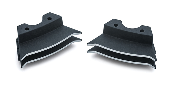 Finned Spark Plug Covers for Milwaukee-Eight - Motorcycle