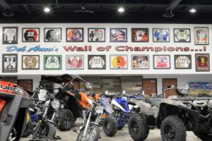 Destination Dealership Del Amo Motorsports Wall of Champions