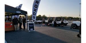 ROXOR UTV press show