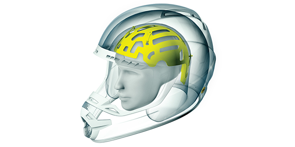 Full Face Helmet design MIPS