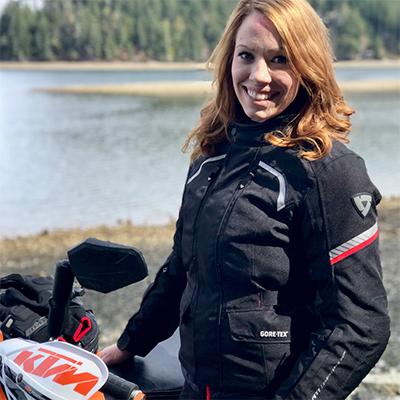 REVIT Adventure Team Rider Anna Baklund