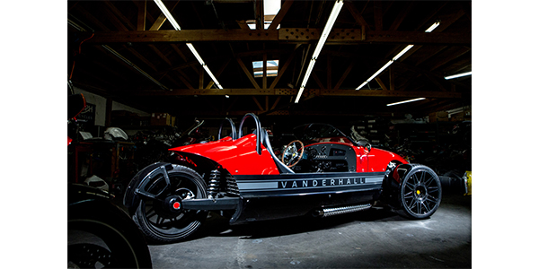 Vanderhall vehicle