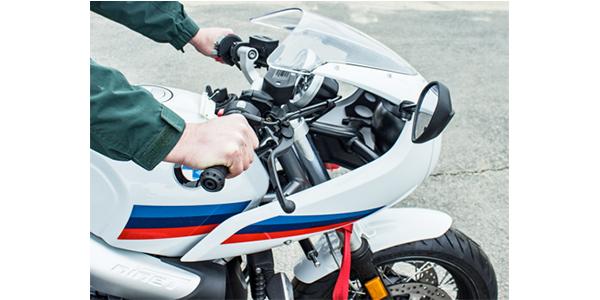 helibars BMW handlebar riser on BMW