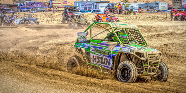 Ian Kowalski racing UTV World Championship