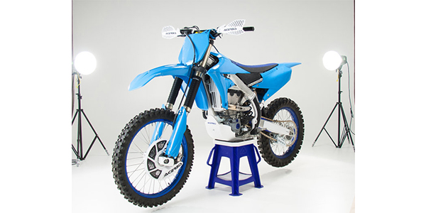 Acerbis Front Fender YZ Blue for Yamaha Off-Road Motorcycles
