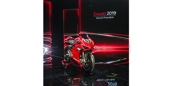 Ducati Presents Car To Bike Communication Technology At Ces In