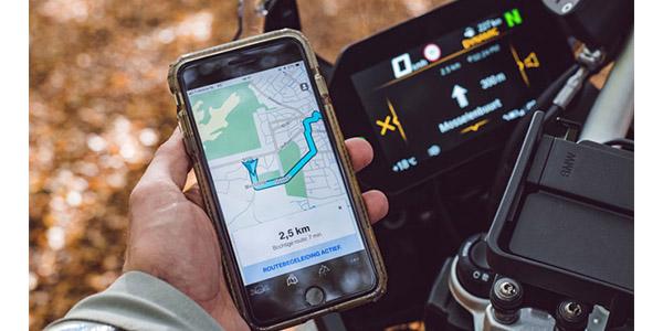 tomtom bmw motorrad to provide in bike navigation via app. Black Bedroom Furniture Sets. Home Design Ideas