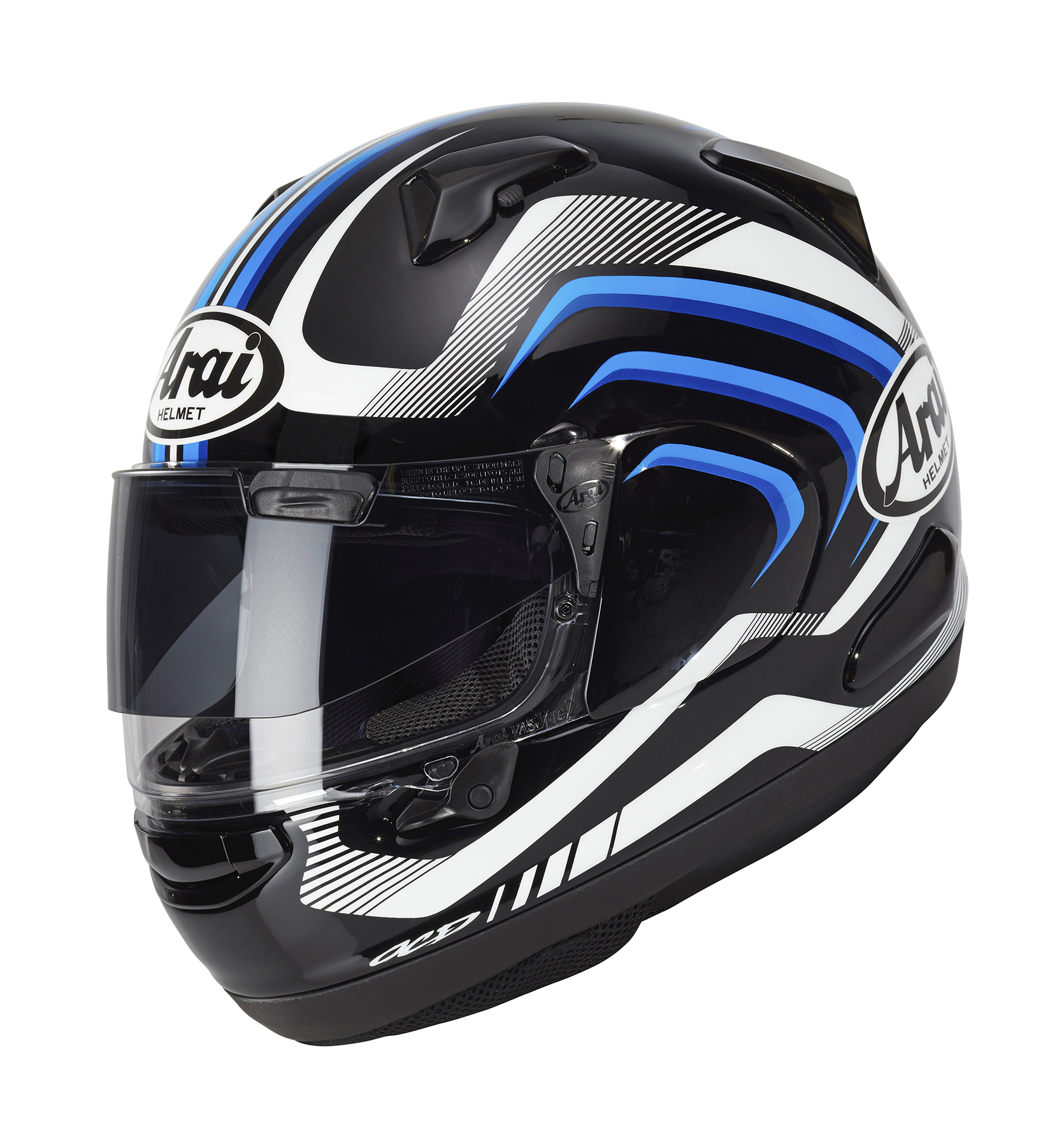 Arai Signet X Shockwave Blue Frost