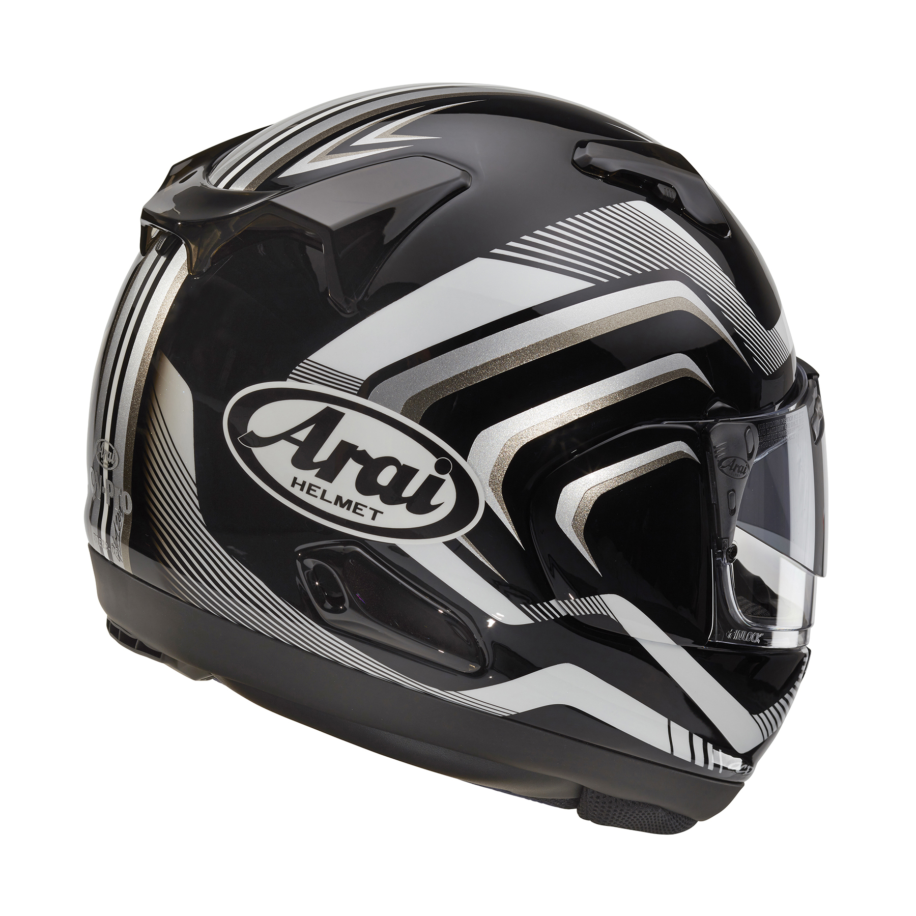 Arai Signet X Shockwave Black Frost