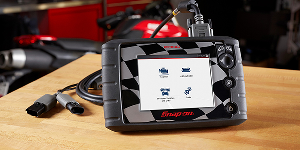 Snap-on Introduces New Motorcycle Scan Tool