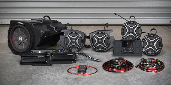 Can-Am Maverick X3 2019 Underseat Driver Side Only 10in Loaded Subwoofer Enclosure w//Kicker 10inch Comp