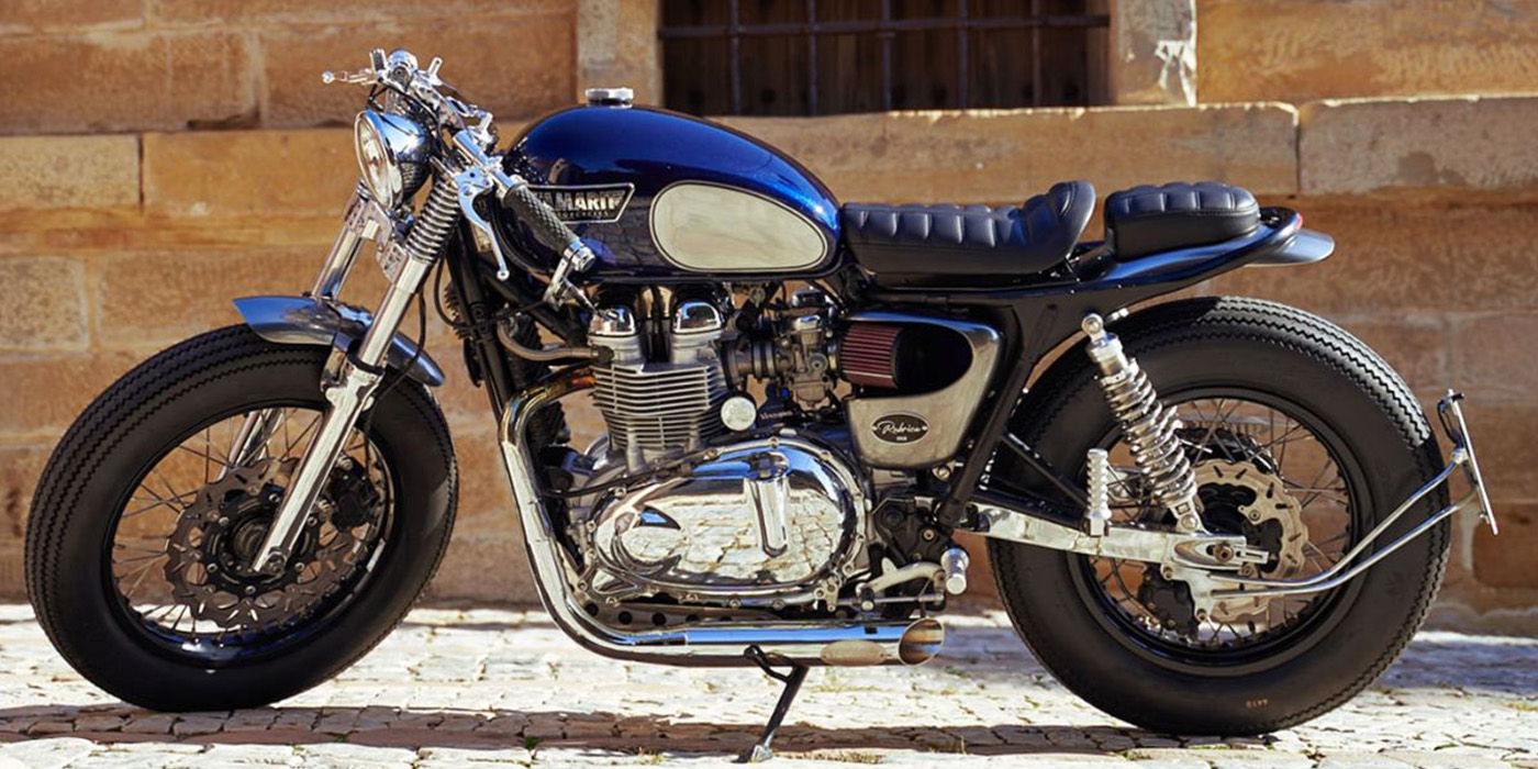 Rúbrica Thruxton 900 by Tamarit Motorcycles