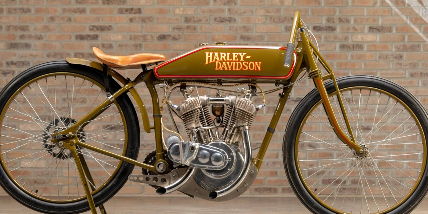 Harley Davidson 1925 Board Track Racer Replica