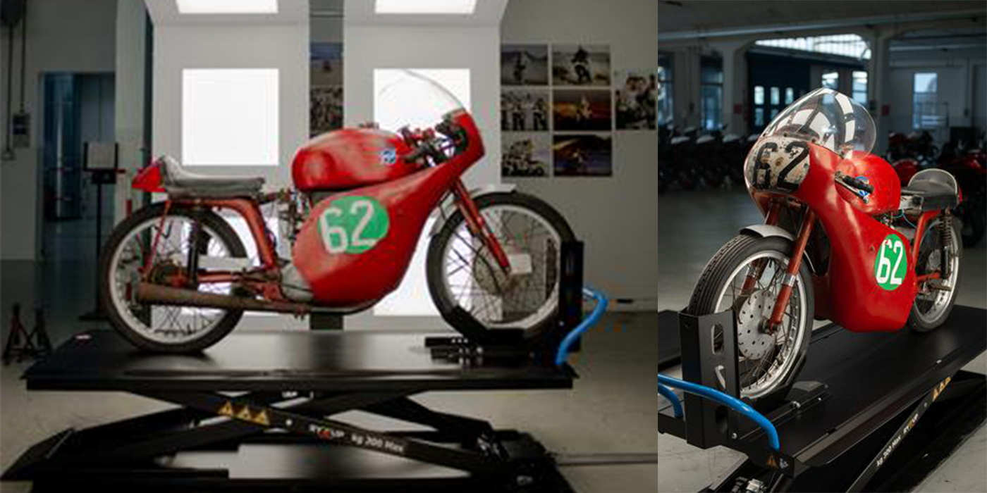 MV Agusta Acquires Rare Racing Model