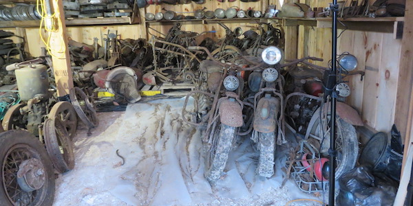 Vermont Hoarders 'Barn Find' Bikes To Go Up For Auction