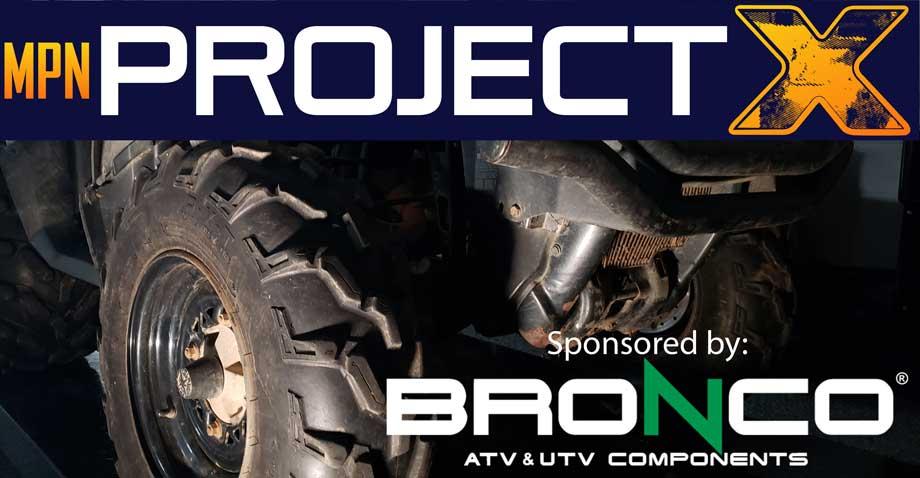 Project X and Bronco ATV & UTV Components