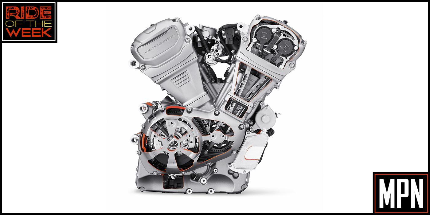 Harley-Davidson Revolution Max 1250 V-Twin, Liquid-Cooled Engine