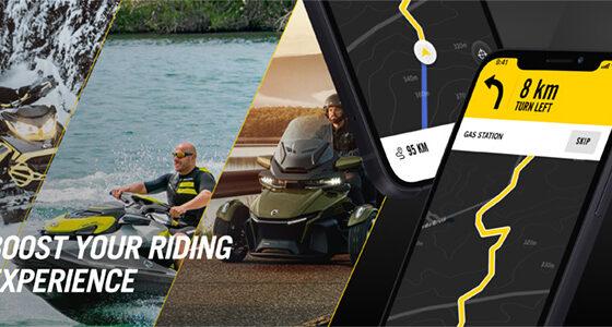 app, navigation, GPS, BRP GO!