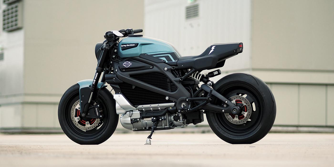 JvB Moto Custom Harley-Davidson LiveWire