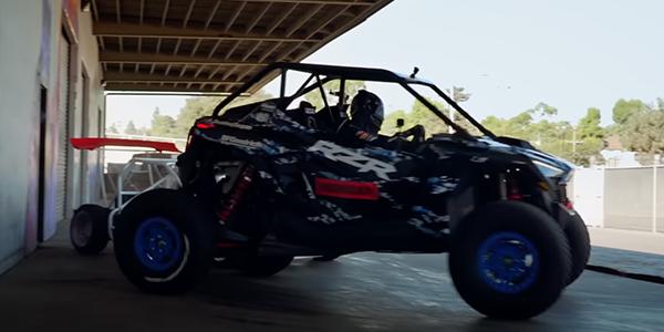 Hoonigan Drives the New Polaris RZR Pro R