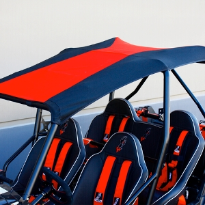 DragonFire SunTop Canvas Roof - Motorcycle & Powersports News